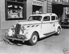 1935 Desoto Taxi Parked in front of Haines Dept Store  5 x 7 Photograph