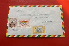 *Brief Beleg - Boliviennach Deutschland - Salzgitter 50-er Jahre (78)