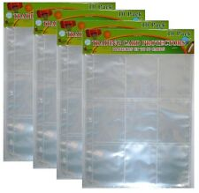 Card Protector Album Binder Plastic Sheets Sleeves 9 Pocket x 40 Pages -Baseball