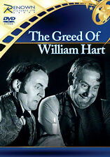 THE GREED OF WILLIAM HART - DVD - REGION 2 UK