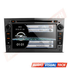 Grey In Dash Car DVD Player Stereo GPS SATNAV Opel Vauxhall Vivaro/Astra H/Corsa