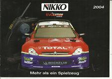 Katalog Nikko Evolution Tuner 2004 RC Cars Modelle 1:6 1:10 1:12 1:14 1:16 1:24
