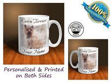 Cairn Terrier Personalised Ceramic Mug: Perfect Gift. (D002)