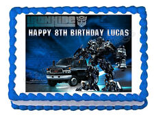 TRANSFORMERS IRONHIDE party decoration edible cake image frosting sheet topper