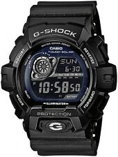 Casio G-Shock Solar Powered Black Strap Black Dial Watch GR-8900A-1ER RRP £120