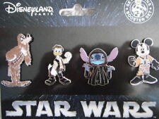 SET 4 PINS DISNEY DISNEYLAND PARIS : STAR WARS