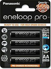 Panasonic Eneloop Pro upto 2550mAh 4xAA Rechargeable Ni-MH Battery
