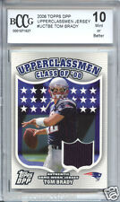 TOM BRADY 2006 Topps Class of 2000 game worn JERSEY piece BGS BCCG 10 MINT !