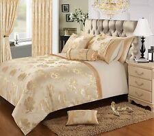 Floral Jacquard Glitter Chic Duvet Cover Bedding Set- Panache
