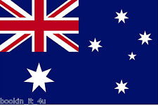 ****AUSTRALIA AUSTRALIAN VINYL FLAG DECAL / STICKER****