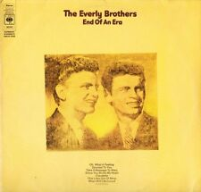 THE EVERLY BROTHERS end of an era 66259 A1/B1/C1/D1 1st press DOUBLE LP PS EX/EX