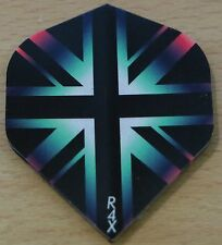 "10 Sets (10X3) ""Union Jack Multi"" R4X Extra Strong Ruthless Dart Flights"