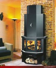 Wood Burning Stove Fireplace Log Burner Woodburning Solid Fuel Diplomat 18kw