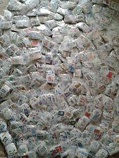 Vrac de 100 timbres de France grands formats et oblitérés