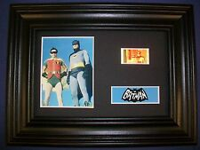 BATMAN TOS Framed Movie Film Cell Memorabilia Compliments poster dvd vhs