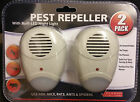 2 - 8 ULTRA SONIC PLUG IN MICE MOUSE RODENT RAT SPIDER ANT REPELLER PEST CONTROL