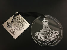 2014 Los Angeles Kings Stanley Cup Champions Game Used Glass Staples Center