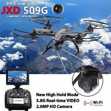 JXD509G FPV 2.4Ghz 4CH RC 6-Axis Quadcopter Drone with 2MP HD Camera RTF UFO UAV