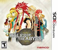 Tales of the Abyss  (Nintendo 3DS, 2012) Brand New