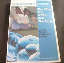 "~Handwashingforlife ""The Why, The When, and The How""Video CD Foodservice Ed"