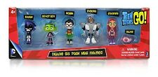 TEEN TITANS GO ! Deluxe Mini Figures Pack (6 figurines)   - New in box