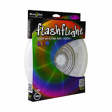 Nite Ize Flashflight LED Light-Up Flying Disc Disco Ultimate Glow Frisbee 185g