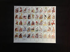US 1987 SC# 2286-2335 American Wildlife Full Complete Sheet of 50 22c MNH*