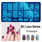 New Design DIY Nail Art Image Stamp Stamping Plates Manicure Template Nail ACC