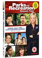 Parks And Recreation: Complete Series 4 - DVD NEW & SEALED (4 Discs) UK Edition