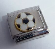 FOOTBALL Italian Charm - SOCCER BALL Sports 9mm - fits Classic Starter Bracelets