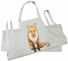 Fox - Natural (Cream) Cotton Drill Child's Apron