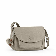Kipling SUNITA Across Body/Shoulder/Messenger Bag WARM GREY (Beige) RRP £79