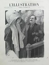 L'ILLUSTRATION 1906 N 3328 INCIDENT AU PROCES DU TENOR ENRICO CARUSO, A NEW-YORK