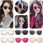 Women Retro Vintage Mirrored Lenses Designer Sports Cat Eye Oversized Sunglasses