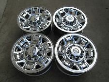"17""  NISSAN NV 1500 2500 3500 Factory Steel CHROME WHEELS RIMS 17X7.5 CHEVY"