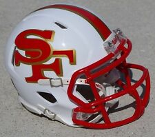 SAN FRANCISCO 49ERS CONCEPT SPEED MINI FOOTBALL HELMET