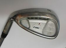 Left Handed TAYLORMADE RAC OS 9 Iron Flex R Steel Shaft
