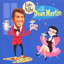 DEAN MARTIN LATE AT NIGHT WITH DEAN MARTIN CAPITOL RECORDS UK CD 1999 NEW RARE