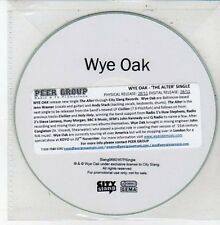 (DD649) Wye Oak, The Alter - DJ CD