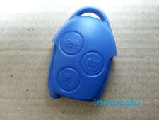 NEW 3 BUTTON BLUE REMOTE KEY FOB CASE SHELL for FORD TRANSIT MK7