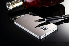 Luxury Aluminum Metal Frame Mirror Back Case Cover For Samsung Galaxy S5 i9600