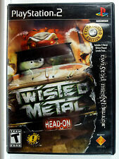 Twisted Metal Head-On Extra Twisted (PS2) Complete, Clean,Tested & Fast Shipping
