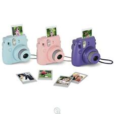 Fujifilm Instax Mini 8 Instant Mini Photo Printing Camera Purple with Film
