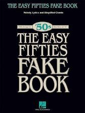Fake Bks.: The Easy Fifties : Melody, Lyrics and Simplified Chords (2005,...