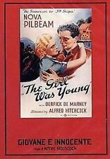 Young and Innocent. Giovane e innocente (1937) DVD Nuovo Alfred Hitchcock