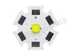 3pcs 5W Cree XLamp XTE XT-E White 6000K-6500K LED Light Lamp Bulb 1.5A 3.2V-3.6V