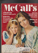 McCall's Magazine Christmas Issue  December 1972