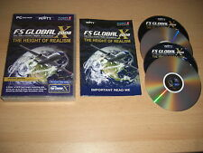 FS GLOBAL 2008 Pc DVD Microsoft Flight Simulator Sim 2004 or X Add-On FS2004 FSX