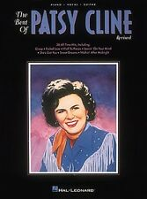 The Best of Patsy Cline Sheet Music Piano Vocal Guitar Songbook NEW 000490431