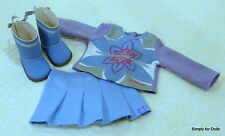 """3pc MY AMERICAN GIRL 18"""" Doll Clothes SET """"I Like Your Style"""" (2008) Retired KP3"""